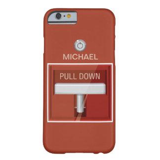 Caso del iPhone 6 de la estación la alarma de Funda De iPhone 6 Barely There