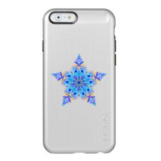 Caso del iPhone 6 de la estrella del caleidoscopio Funda Para iPhone 6 Plus Incipio Feather Shine