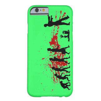 caso del iPhone 6 de la evolución del zombi Funda De iPhone 6 Barely There