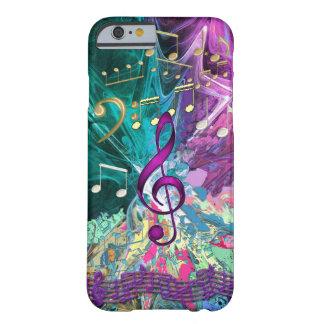 Caso del iPhone 6 de la explosión de la música Funda Barely There iPhone 6