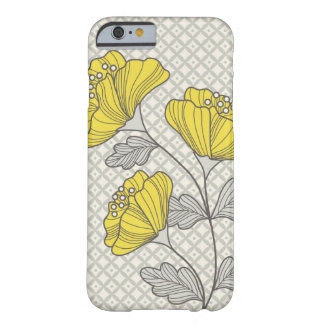 Caso del iPhone 6 de la flor Funda De iPhone 6 Barely There