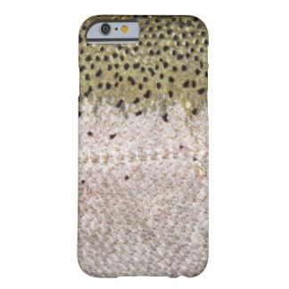 Caso del iPhone 6 de la furia de la pesca (trucha Funda De iPhone 6 Barely There