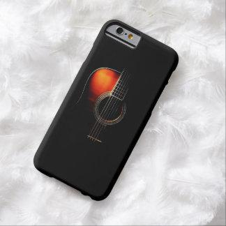 Caso del iPhone 6 de la guitarra acústica Funda Barely There iPhone 6