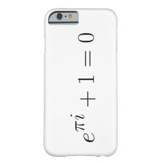 Caso del iPhone 6 de la identidad de Euler Funda Para iPhone 6 Barely There