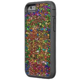 Caso del iPhone 6 de la imagen de mosaico - SRF Funda De iPhone 6 Tough Xtreme