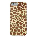 Caso del iPhone 6 de la jirafa