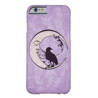 Caso del iPhone 6 de la luna del cuervo Funda Para iPhone 6 Barely There