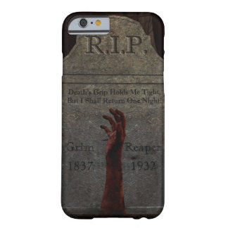 Caso del iPhone 6 de la mano del zombi Funda Para iPhone 6 Barely There