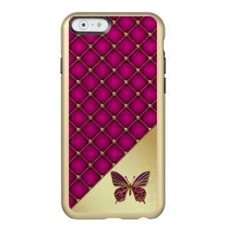 Caso del iPhone 6 de la mariposa de la orquídea y Funda Para iPhone 6 Plus Incipio Feather Shine