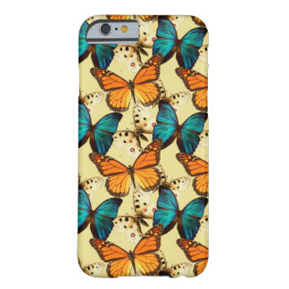 Caso del iPhone 6 de la mariposa Funda De iPhone 6 Barely There