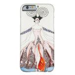 Caso del iPhone 6 de la moda del art déco de Jorte Funda De iPhone 6 Slim