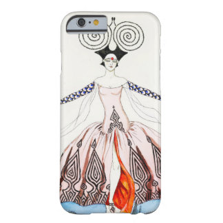 Caso del iPhone 6 de la moda del art déco de Jorte Funda De iPhone 6 Barely There