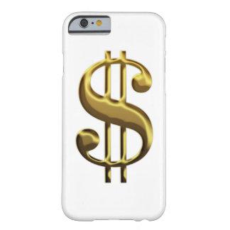 Caso del iPhone 6 de la muestra de dólar Funda Barely There iPhone 6