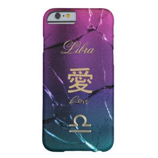 Caso del iPhone 6 de la muestra del zodiaco del ~ Funda Barely There iPhone 6