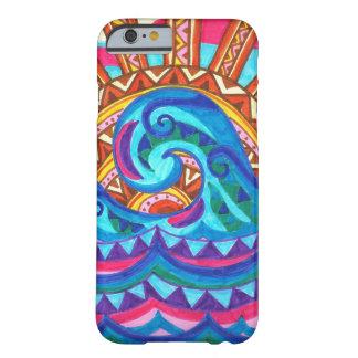 Caso del iPhone 6 de la ola oceánica Funda De iPhone 6 Barely There