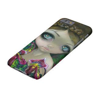 """""""Caso del iPhone 6 de la orquídea del dragón"""" Funda De iPhone 6 Barely There"""