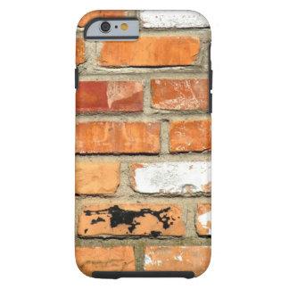 Caso del iPhone 6 de la pared de ladrillo Funda Para iPhone 6 Tough