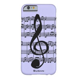 Caso del iPhone 6 de la partitura musical y del Funda Para iPhone 6 Barely There