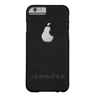 caso del iPhone 6 de la pera de la ensalada del