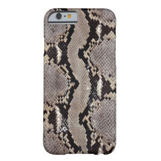 Caso del iPhone 6 de la piel de serpiente Funda De iPhone 6 Barely There
