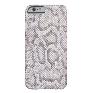 Caso del iPhone 6 de la piel de serpiente