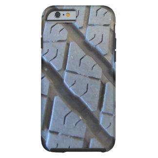 Caso del iPhone 6 de la pisada del neumático del Funda De iPhone 6 Tough