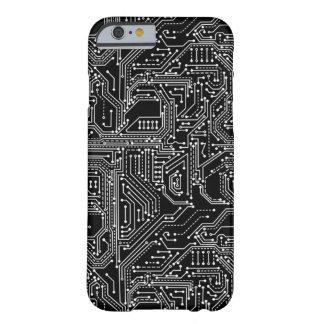 Caso del iPhone 6 de la placa de circuito del Funda Para iPhone 6 Barely There