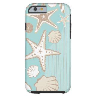 Caso del iPhone 6 de la playa de la playa del Funda De iPhone 6 Tough