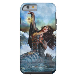 Caso del iPhone 6 de la sirena de la bruja del mar