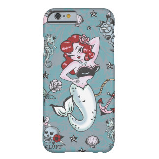 Caso del iPhone 6 de la sirena de Molly de la Funda De iPhone 6 Barely There