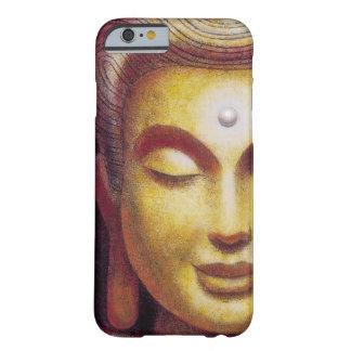 Caso del iPhone 6 de la sonrisa de la meditación Funda Barely There iPhone 6