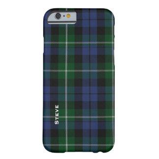 Caso del iPhone 6 de la tela escocesa de tartán de Funda De iPhone 6 Barely There