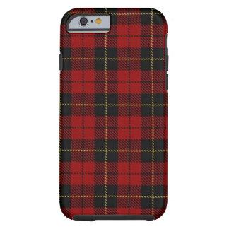 Caso del iPhone 6 de la tela escocesa de Wallace Funda Para iPhone 6 Tough