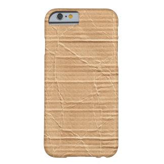 Caso del iPhone 6 de la textura de la cartulina Funda De iPhone 6 Barely There