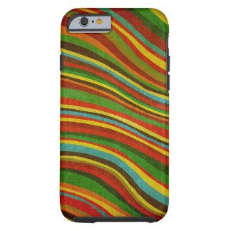 caso del iPhone 6 de la textura de la onda del