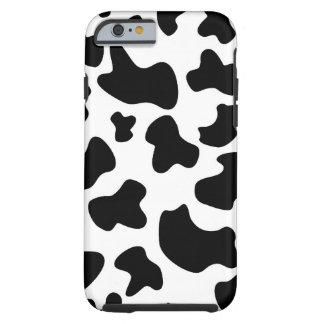 Caso del iPhone 6 de la vaca del MOO Funda De iPhone 6 Tough