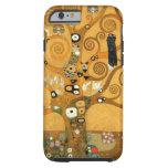 Caso del iPhone 6 de la vida de Klimt del vintage Funda De iPhone 6 Tough