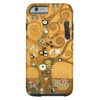 Caso del iPhone 6 de la vida de Klimt del vintage Funda Para iPhone 6 Tough