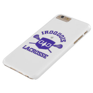Caso del iPhone 6 de LaCrosse del Iroquois Funda De iPhone 6 Plus Barely There