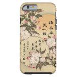 Caso del iPhone 6 de las flores de cerezo