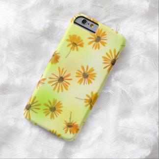 Caso del iPhone 6 de las flores Funda Para iPhone 6 Barely There