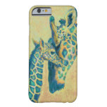 caso del iPhone 6 de las jirafas del trullo Funda De iPhone 6 Slim