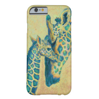 caso del iPhone 6 de las jirafas del trullo Funda De iPhone 6 Barely There