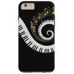 Caso del iPhone 6 de las llaves del piano y de las Funda De iPhone 6 Plus Tough
