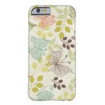 caso del iPhone 6 de las mariposas del doodle Funda De iPhone 6 Barely There