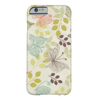 caso del iPhone 6 de las mariposas del doodle Funda De iPhone 6 Slim