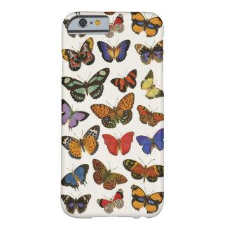 Caso del iPhone 6 de las mariposas Funda De iPhone 6 Barely There