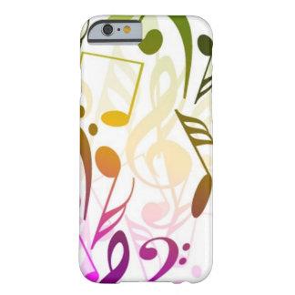 Caso del iPhone 6 de las notas musicales Funda Barely There iPhone 6