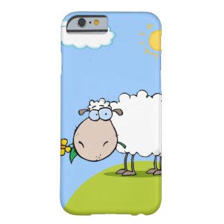 Caso del iPhone 6 de las ovejas del dibujo animado Funda De iPhone 6 Barely There