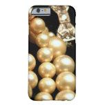 Caso del iPhone 6 de las perlas y de los diamantes
